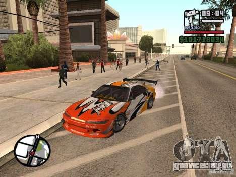Nissan Silvia 200SX для GTA San Andreas