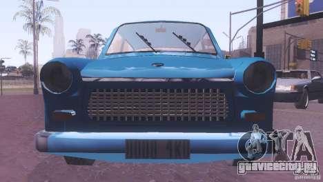 Trabant 601S для GTA San Andreas вид сбоку