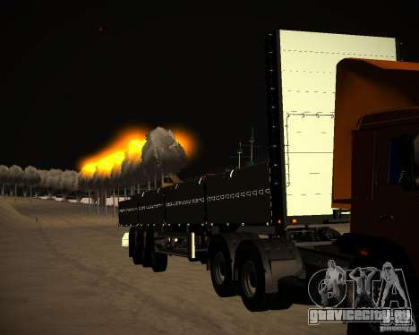 Бортовой Kogel для GTA San Andreas вид сзади