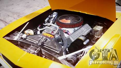 Chevrolet Camaro для GTA 4 вид изнутри