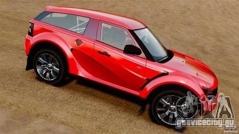 Bowler EXR S 2012 для GTA 4 вид слева