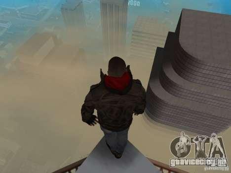James Heller из Prototype 2 для GTA San Andreas четвёртый скриншот