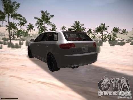Audi RS3 2011 для GTA San Andreas вид слева