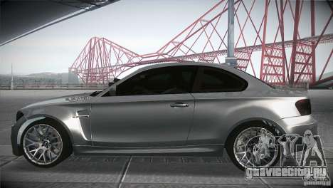 BMW 1M E82 Coupe 2011 V1.0 для GTA San Andreas вид слева