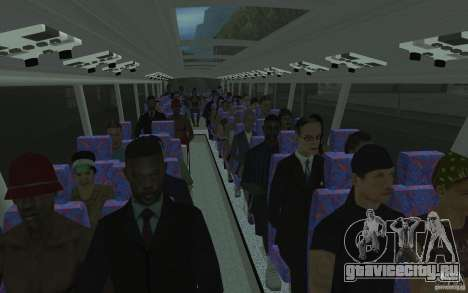 Design-X6-Public Beta для GTA San Andreas вид снизу