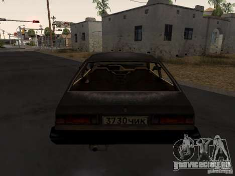 Авто 3 из CoD4-MW v2 для GTA San Andreas вид сзади