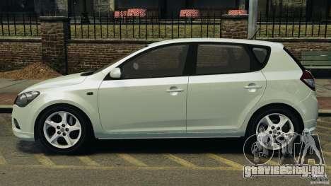 Kia Ceed 2011 для GTA 4 вид слева