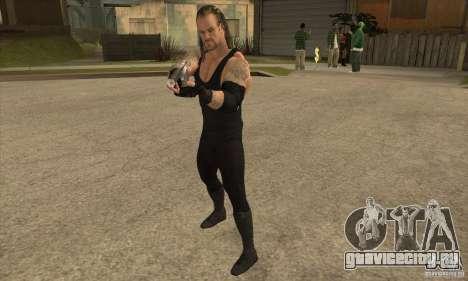 Гробовщик из Smackdown 2 для GTA San Andreas второй скриншот