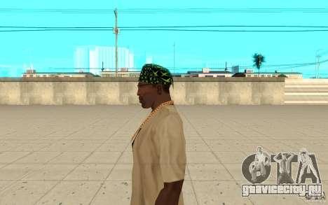 Бандана xbox для GTA San Andreas второй скриншот