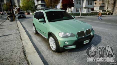 BMW X5 Experience Version 2009 Wheels 223M для GTA 4 вид изнутри