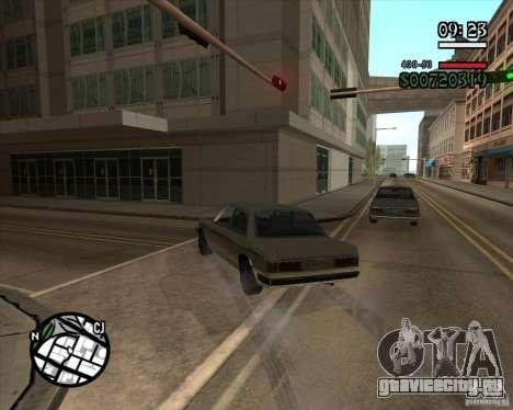 Новое реалистичное управление для GTA San Andreas пятый скриншот