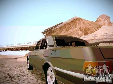 ГАЗ 31025 для GTA San Andreas вид сзади слева