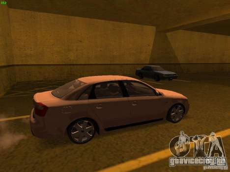 Audi S4 OEM для GTA San Andreas вид слева