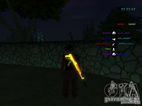 Новые скины La Coza Nostrы для GTA:SA для GTA San Andreas шестой скриншот