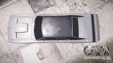 Dodge Charger RT 1969 tun v1.1 лоу райд для GTA 4 вид справа