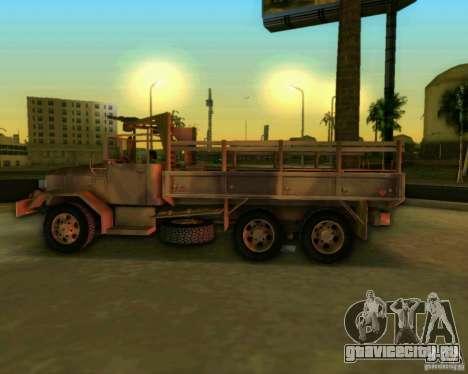 M352A для GTA Vice City вид сзади
