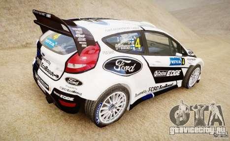 Ford Fiesta RS WRC для GTA 4 вид слева
