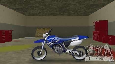 Yamaha YZ450F для GTA Vice City вид слева