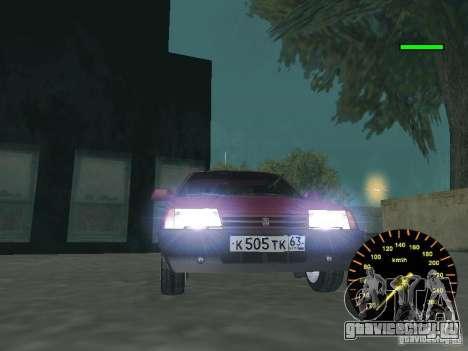 ВАЗ 2108 classic для GTA San Andreas вид сзади слева