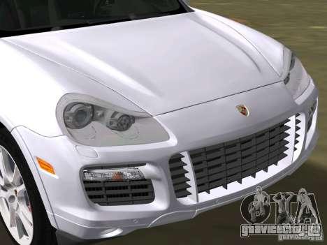 Porsche Cayenne Turbo S для GTA Vice City вид справа