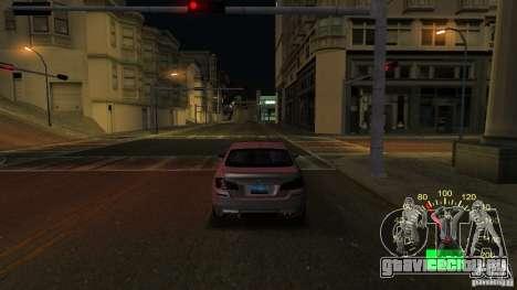 Спидометр от Lada 2110 для GTA San Andreas второй скриншот