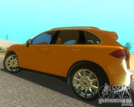 Porsche Cayenne 958 2010 V1.0 для GTA San Andreas вид сверху