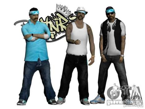 Skinpack Rifa Gang для GTA San Andreas