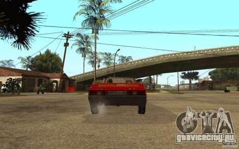 Москвич 2141 Cabriolet для GTA San Andreas вид справа
