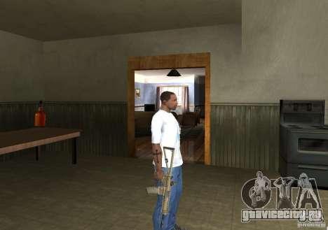 KAC PDW для GTA San Andreas четвёртый скриншот