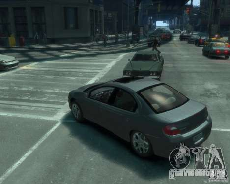 Dodge Neon 02 SRT4 для GTA 4 вид слева