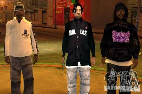 Замена банд, татуировок, одежды и т.п. для GTA San Andreas пятый скриншот