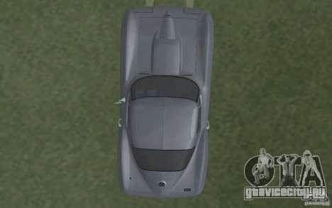 Chevrolet Corvette 427 для GTA San Andreas вид изнутри