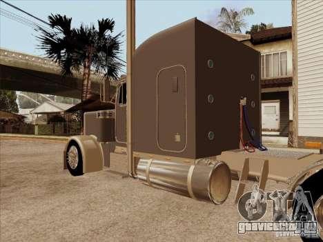 Peterbilt 379 Custom для GTA San Andreas вид справа