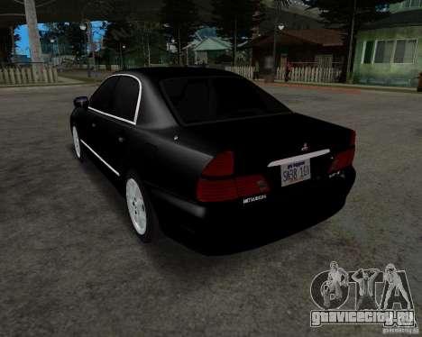 Mitsubishi Diamante для GTA San Andreas вид сзади слева