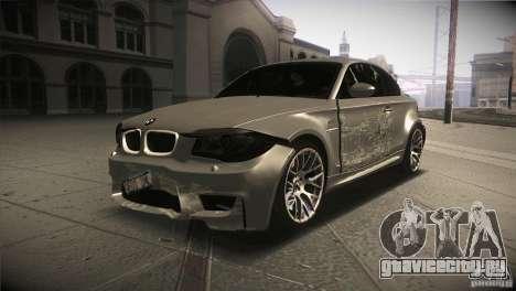 BMW 1M E82 Coupe 2011 V1.0 для GTA San Andreas вид сверху