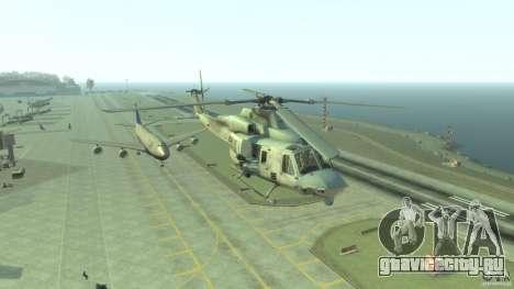 Bell UH-1Y Venom для GTA 4 вид сзади