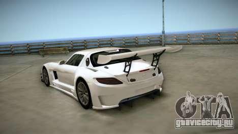 Mercedes-Benz SLS AMG GT3 для GTA San Andreas вид справа