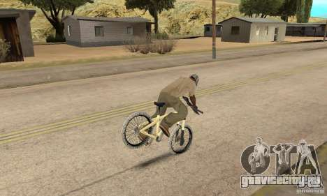 Specialized P.3 Mountain Bike v 0.8 для GTA San Andreas вид сзади