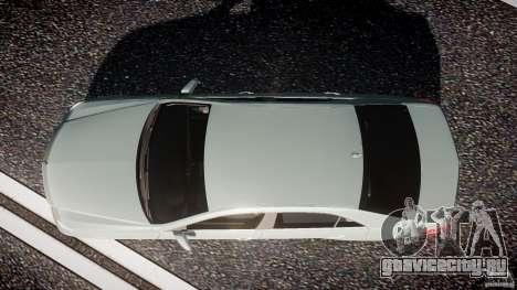 Mercedes-Benz E63 2010 AMG v.1.0 для GTA 4 вид справа