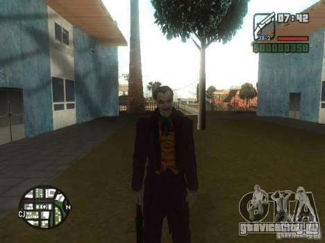 HQ Joker Skin для GTA San Andreas четвёртый скриншот