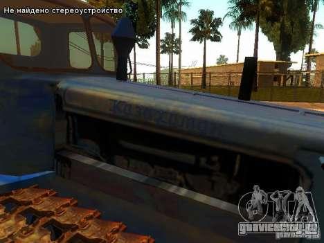 ДТ-75М Казахстан для GTA San Andreas вид сбоку