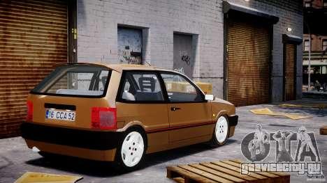 Fiat Tipo 1990 для GTA 4 вид сзади слева