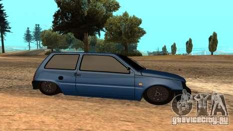 ВАЗ Ока 1111 для GTA San Andreas вид слева