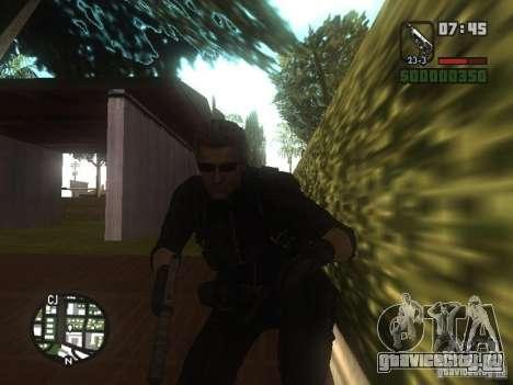 Wesker из RE5 для GTA San Andreas третий скриншот