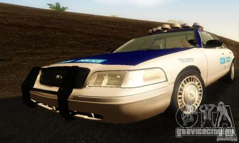 Ford Crown Victoria Virginia Police для GTA San Andreas