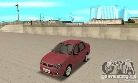 Fiat Siena HLX 1.8 Flex для GTA San Andreas