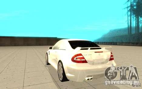 Mercedes-Benz CLK 500 Kompressor для GTA San Andreas вид сзади слева