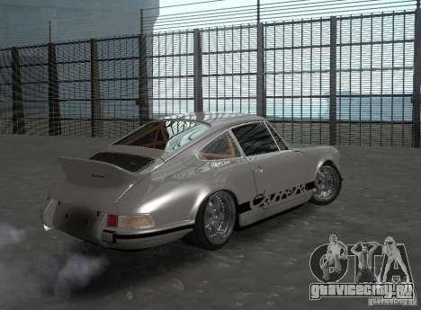 Porsche Carrera RS для GTA San Andreas вид справа