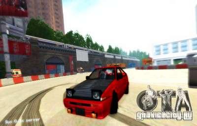 Лондон Drift для GTA San Andreas