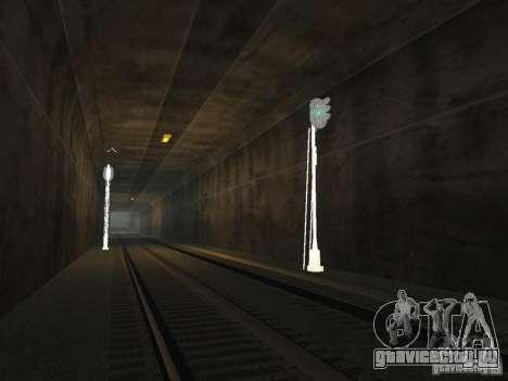 Железнодорожные светофоры 2 для GTA San Andreas четвёртый скриншот